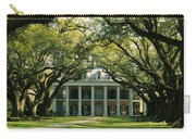 Oak Trees In Front Of A Mansion, Oak Carry-all Pouch