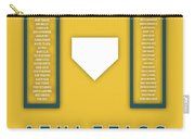 Oakland Athletics Art - Mlb Baseball Wall Print Carry-all Pouch