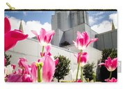 Oakland Pink Tulips Carry-all Pouch