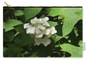Oakleaf Hydrangea Floral Carry-all Pouch