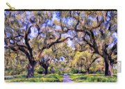 Oaks And Spanish Moss Carry-all Pouch