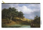 Oaks Beside The Water 1832 By Christian E. B. Morgenstern Carry-all Pouch