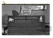 Oatman Arizona Carry-all Pouch
