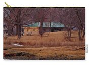 Obear Park At Sunset In Winter Carry-all Pouch