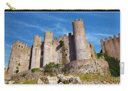 Obidos Castle Carry-all Pouch by Carlos Caetano