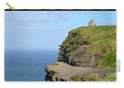 O'brien's Tower Along The Cliff's Of Moher In Ireland Carry-all Pouch