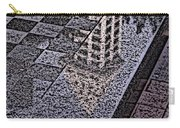 Occidental Park Checkerboard Carry-all Pouch