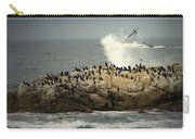 Ocean Angel II Splashed And Birds Carry-all Pouch