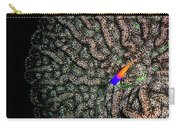 Ocean Art Cactus Coral Carry-all Pouch