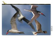 Ocean Bird Collage Carry-all Pouch