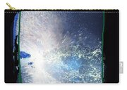 Ocean - Black And White Abstract Carry-all Pouch