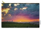 Ocean City Cloudy Sunrise Carry-all Pouch