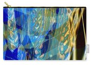 Ocean Girl With Golden Wheats Carry-all Pouch by Navo Art