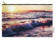 Ocean Landscape Sunrise Carry-all Pouch