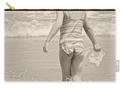 Ocean Moment Quote Carry-all Pouch