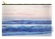 Ocean Painting 'dusk' By Jan Matson Carry-all Pouch