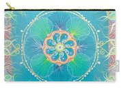 Ocean Pearls Mandala Carry-all Pouch