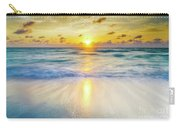 Ocean Reflections At Sunrise Carry-all Pouch