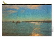 Ocean Sun Path At Boothbay Harbor Carry-all Pouch
