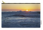 Ocean Wave Kisses The Sun Carry-all Pouch