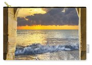 Ocean View Carry-all Pouch by Debra and Dave Vanderlaan