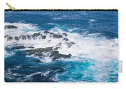Ocean Waves Crashing On Rocks Carry-all Pouch