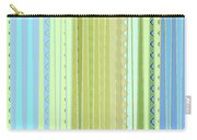 Oceana Stripes Carry-all Pouch by Gina Harrison