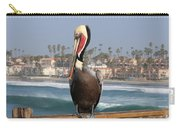 Oceanside Pelican  Carry-all Pouch by Christy Pooschke