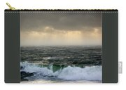 Ochre Sky's And Angry Seas 2 Carry-all Pouch