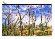 Ocotillos In Bloom Carry-all Pouch
