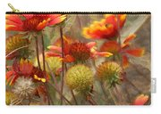 October Flowers 2 Carry-all Pouch