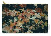 October Flowers By Night Carry-all Pouch