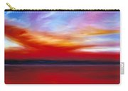October Sky  Carry-all Pouch by James Christopher Hill