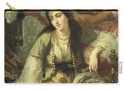 Odalisque Carry-all Pouch by Jean Baptiste Ange Tissier