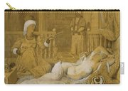 Odalisque With Slave Carry-all Pouch