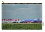Odd Couple Delta Airlines Southwest Airlines Art Carry-all Pouch