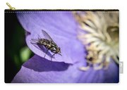 Odd Fly On Clematis Carry-all Pouch