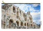 Odeon Stone Wall - Athens Greece Carry-all Pouch