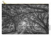 Odessa Sunrise -black And White Carry-all Pouch