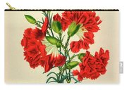 Oeillet Rouge Carry-all Pouch