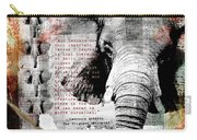 Of Elephants And Men Carry-all Pouch