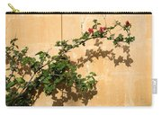 Of Light And Shadow - Bougainvillea On A Timeworn Plaster Wall Carry-all Pouch