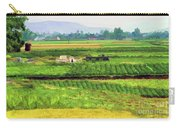 Off The Beaten Track Vietnam Viewed Through Train Window Filters  Carry-all Pouch
