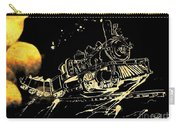 Off The Rails Carry-all Pouch by Denise Tomasura