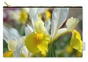 Office Art Botanical Iris Flower Garden Giclee Prints Baslee Troutman Carry-all Pouch