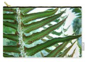 Office Art Ferns Green Forest Fern Giclee Prints Baslee Troutman Carry-all Pouch