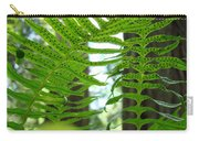 Office Art Ferns Redwood Forest Fern Giclee Prints Baslee Troutman Carry-all Pouch