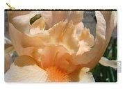 Office Art Irises Flower Orange Iris Flower Giclee Art Prints Baslee Troutman Carry-all Pouch