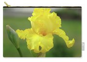 Office Art Irises Yellow Iris Flower Giclee Prints Baslee Troutman Carry-all Pouch