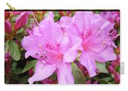 Office Art Pink Azalea Flower Garden 3 Giclee Art Prints Baslee Troutman Carry-all Pouch